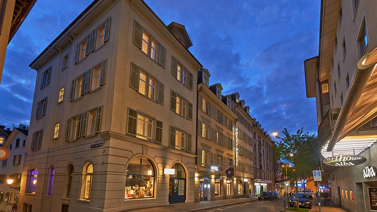 Hotel Nähe Zürichsee | Sorell Hotel Rütli
