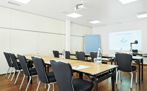 A meeting room in the seminar Hotel Ador Bern