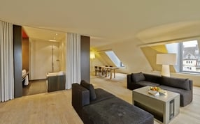 An apartment in Boutique Hotel Rigiblick Zurich