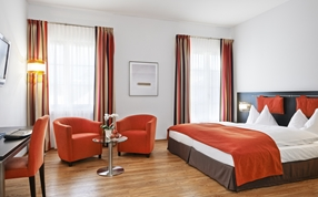 Deluxe Double Twin rooms in Sorell Hotel Tamina Bad Ragaz