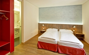Standard Single Hotel rooms at Sorell Hotel Arabelle Bern
