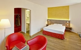 Superior Single Zimmer im Business Hotel Arabelle Bern