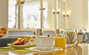 Breakfast at Sorell Hotel Arabelle Bern