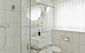 Hotel Bathroom Sorell Hotel City Weissenstein St. Gallen