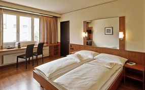 Double Queen Bed rooms at Sorell Hotel Arte Spreitenbach Zurich