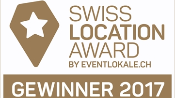 Sieger – Swiss Location Award 2017 schönste Tagungslocation